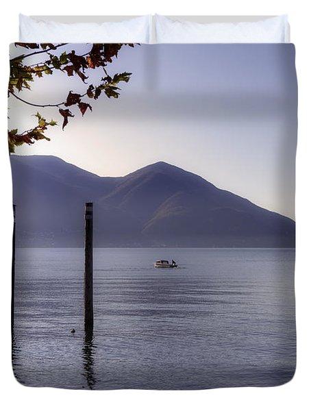 Ascona - Lago Maggiore Duvet Cover by Joana Kruse