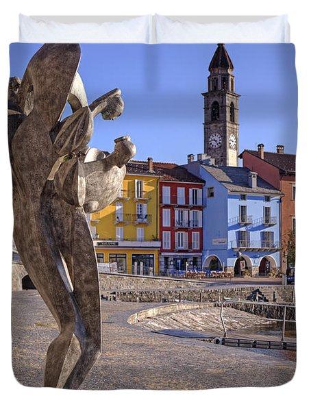 Ascona - Switzerland Duvet Cover by Joana Kruse