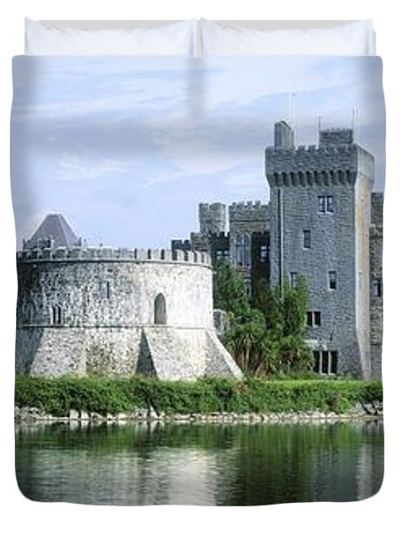 Ashford Castle, Lough Corrib, Co Mayo Duvet Cover by The Irish Image Collection