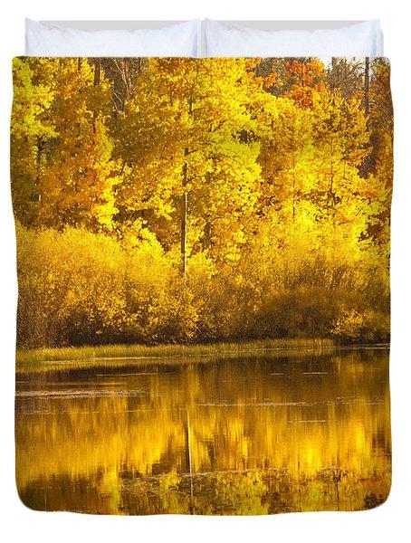 Aspen Pond Duvet Cover