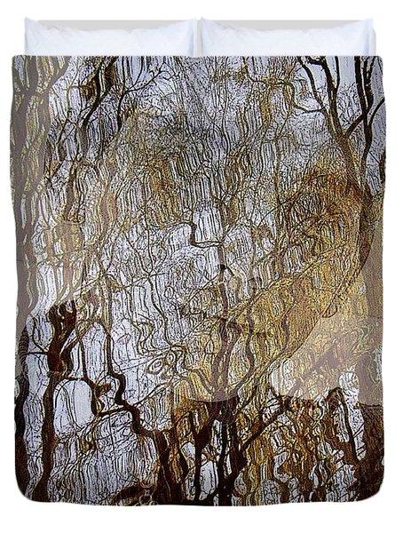 Asphalt - Portrait Of A Boy Duvet Cover