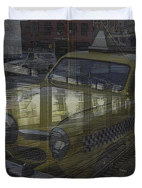 Asphalt Series - 8 Duvet Cover