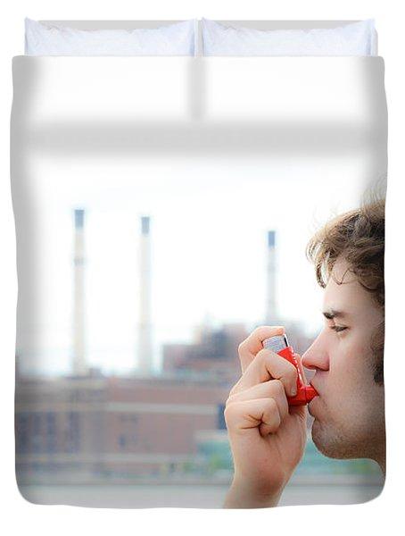 Asthma Duvet Cover