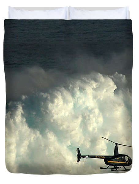 At Peahi Duvet Cover