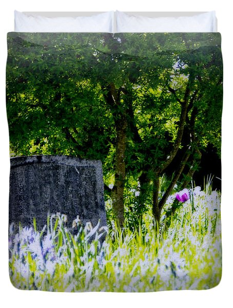 At Rest Duvet Cover by Marilyn Wilson
