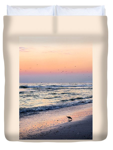 At Sunset Duvet Cover
