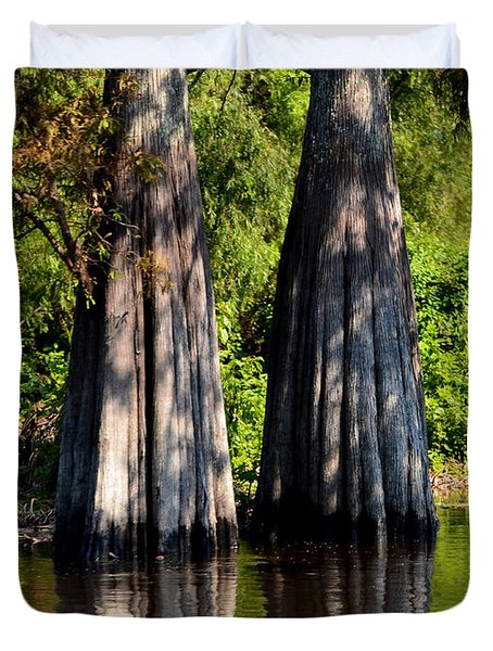 Atchafalaya Basin 53 Duvet Cover by Maggy Marsh