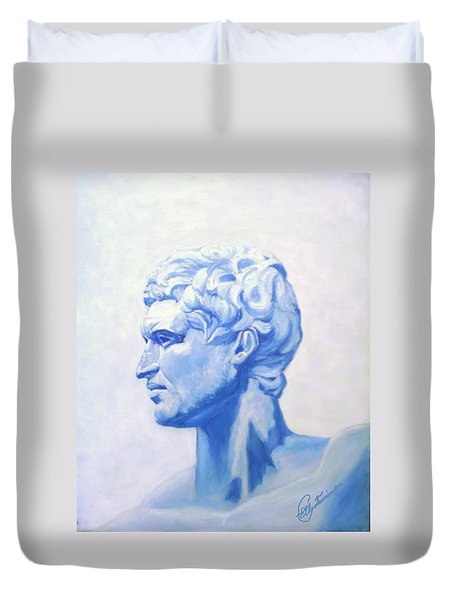 Athenian King Duvet Cover
