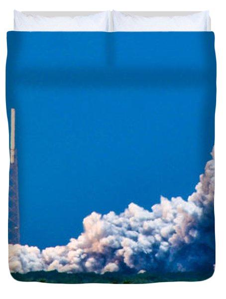 Atlas Launch Duvet Cover