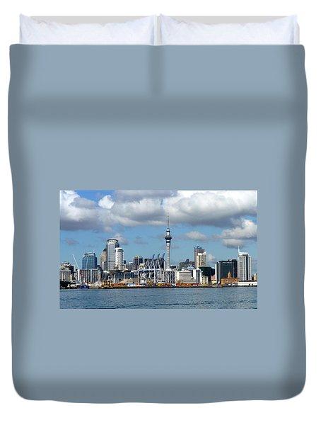 Auckland Skyline Duvet Cover