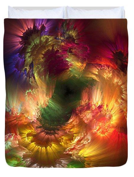 Auras Emotional Reflections Duvet Cover