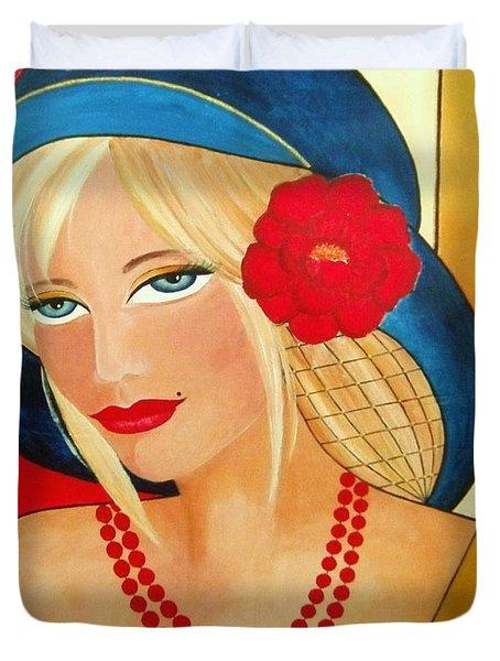 Aurora Duvet Cover by Camelia Apostol
