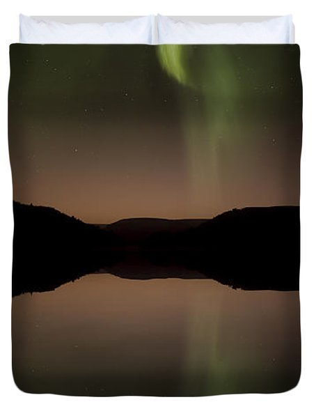 Aurora Reflection Duvet Cover