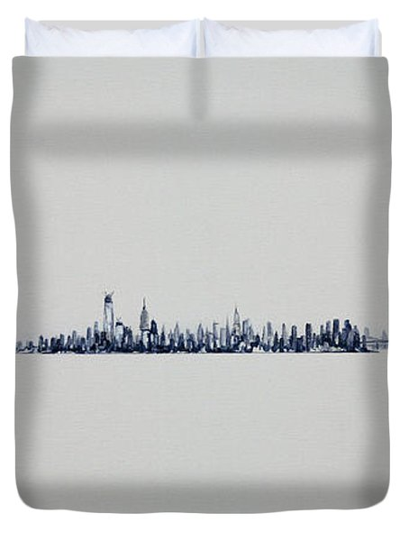 Autum Skyline Duvet Cover