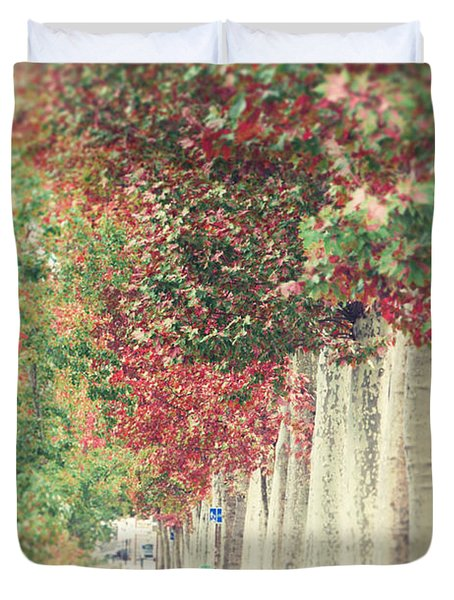 Autumn And Fall Duvet Cover