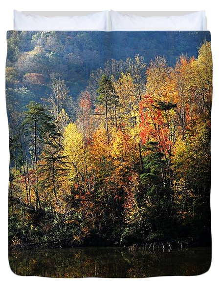 Autumn At Jenny Wiley Duvet Cover