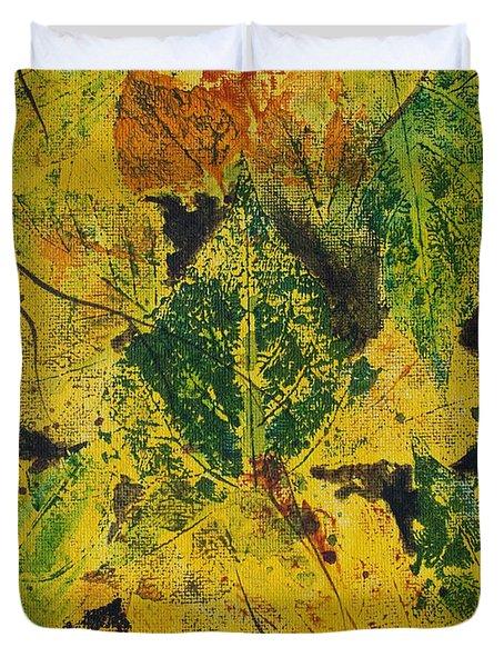 Autumn Boquet Duvet Cover