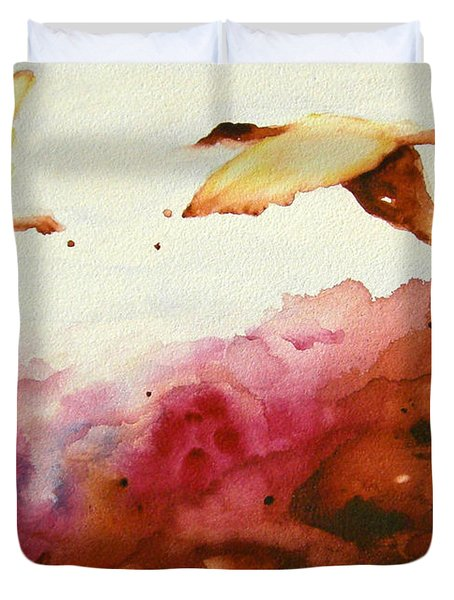 Autumn Flight Duvet Cover