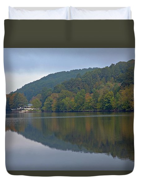 Autumn Is Approaching Duvet Cover by Karol Livote