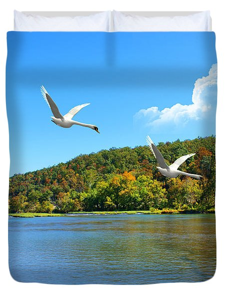 Autumn Landing Duvet Cover