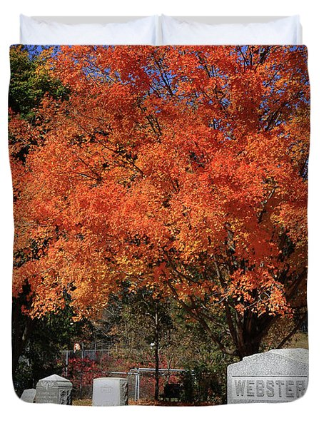 Autumn Memories Duvet Cover