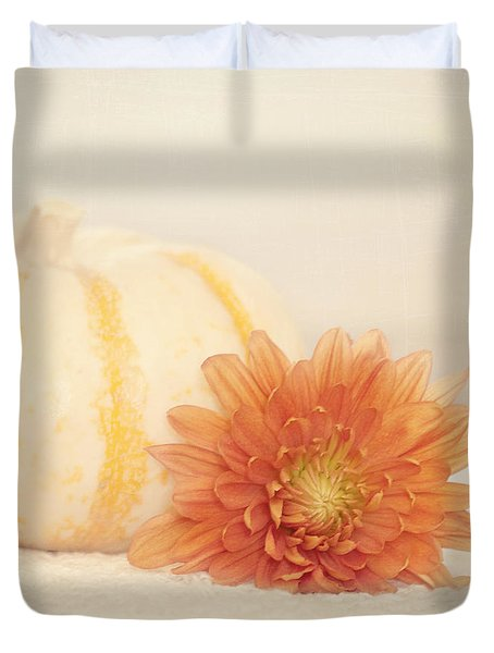 Autumn Splendor Duvet Cover by Kim Hojnacki