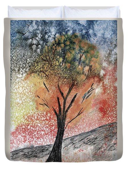Autumn Tree No. 1 Duvet Cover