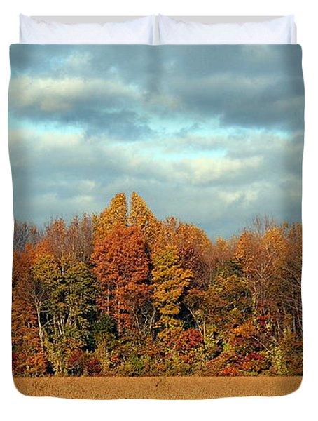 Autumn's Majesty Duvet Cover