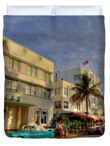 Avalon Hotel Duvet Cover