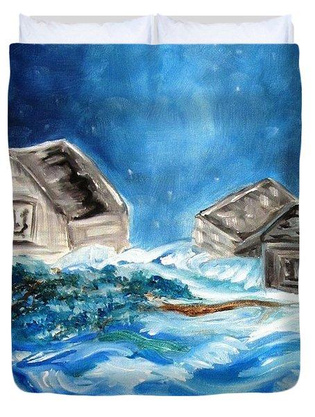 Back Cover Duvet Cover by Carol Allen Anfinsen