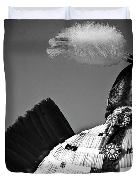 Back Feather Duvet Cover by Diego Re