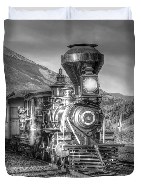 Back In Time Duvet Cover by Ken Smith
