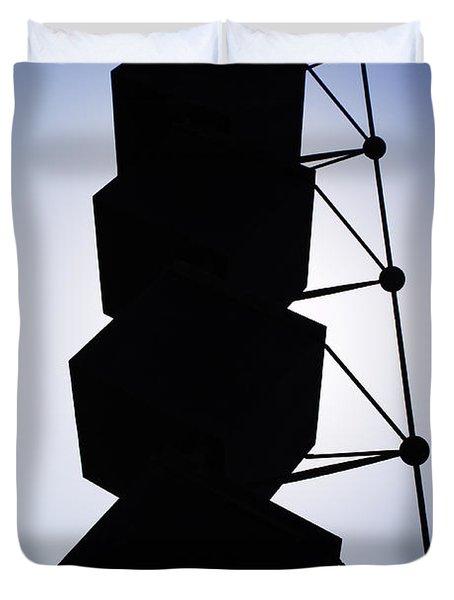 Backlight Structure Duvet Cover