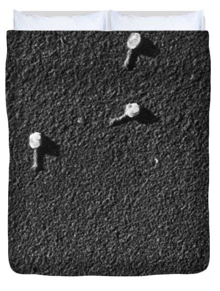 Bacteriophage T2 Duvet Cover