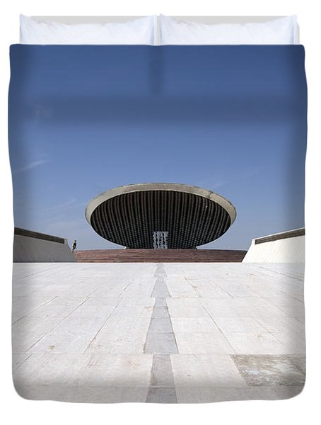 Baghdad, Iraq - The Ramp That Leads Duvet Cover by Terry Moore