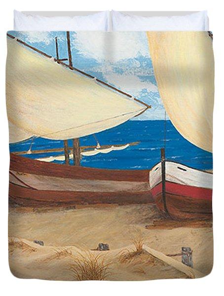 Baja Beach Dunes Duvet Cover