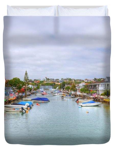Balboa Island Duvet Cover by Kelly Wade