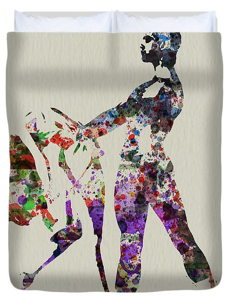 Ballet Dance Duvet Cover
