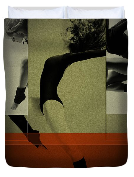 Ballet Dancing Duvet Cover