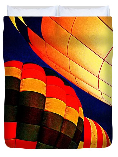 Balloon Glow 1 Duvet Cover by Marty Koch