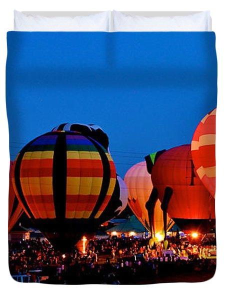 Balloon Glow Duvet Cover