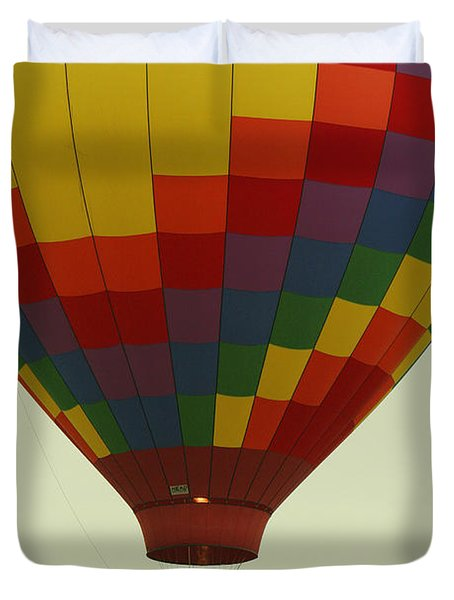 Balloon Ride Duvet Cover