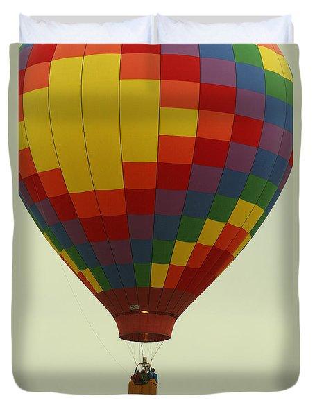 Balloon Ride Duvet Cover