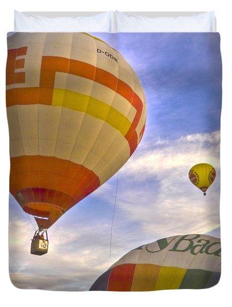 Balloon Ride Duvet Cover by Heiko Koehrer-Wagner