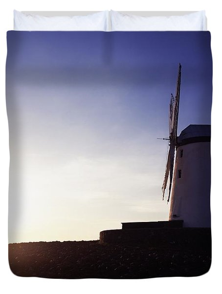 Ballycopeland Windmill, Co. Down Duvet Cover by The Irish Image Collection