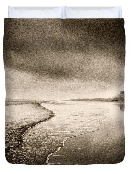 Bamburgh Castle Duvet Cover by Simon Marsden