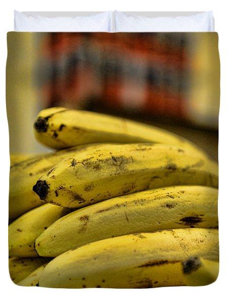 Bananas Duvet Cover by Paul Ward