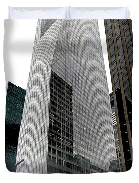 Bank Of America Duvet Cover by S Paul Sahm
