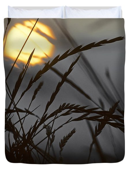 Barley Sunrise Duvet Cover by Nigel Forster