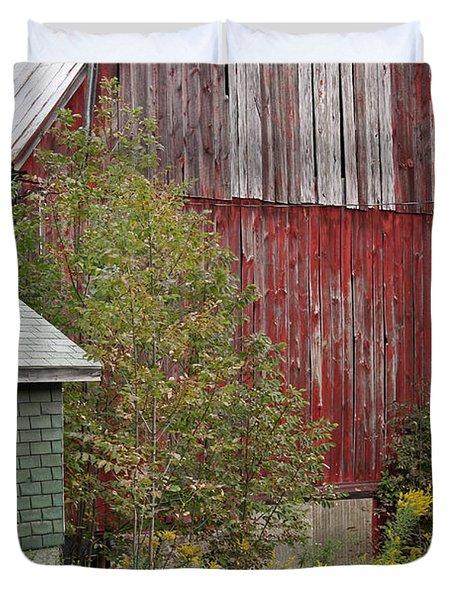 Barn Buildings Duvet Cover